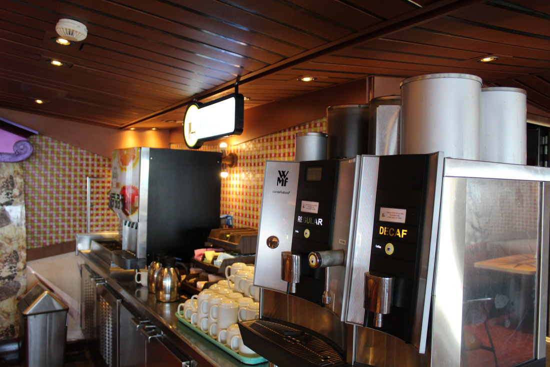 Carnival Freedom Drink Station