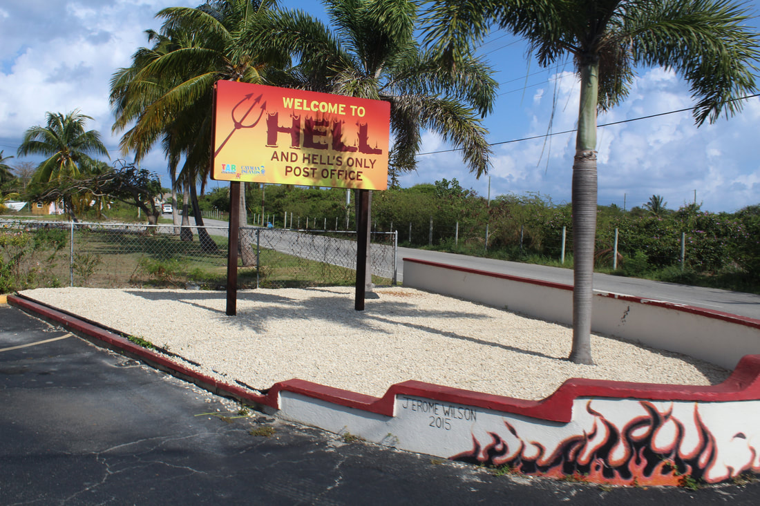 Hell in Grand Cayman