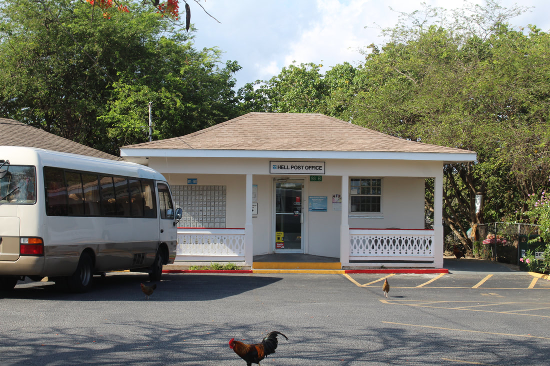 Post Office in Hell Grand Cayman