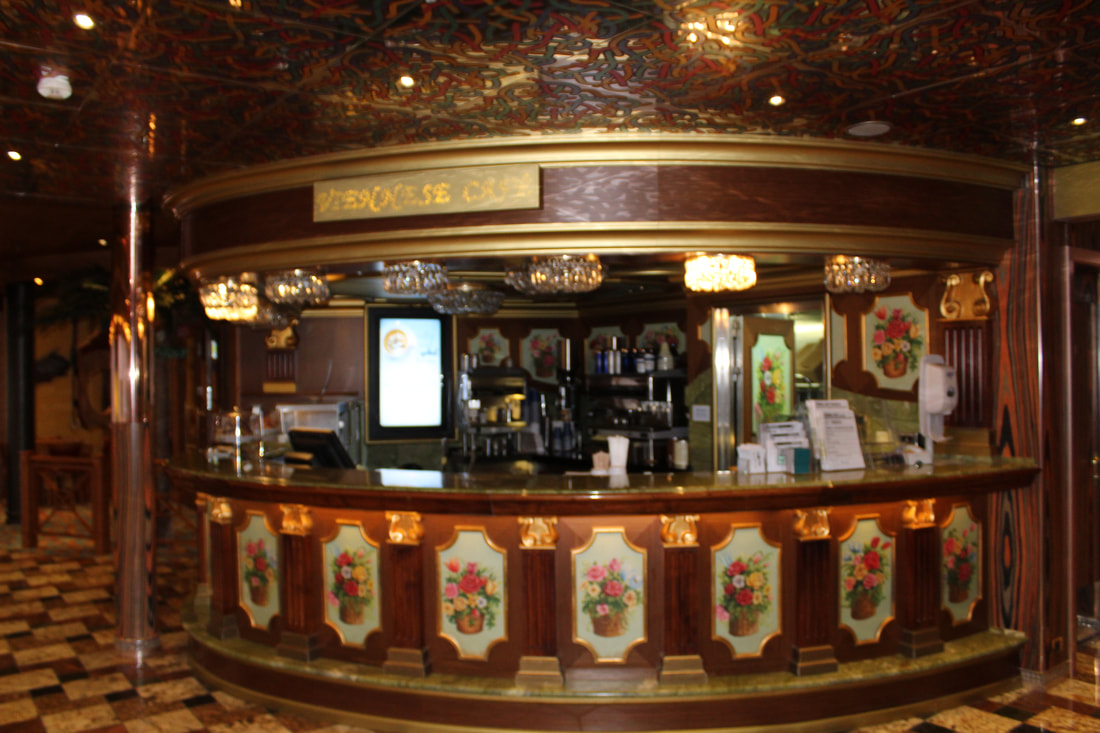 Carnival Freedom Coffee & Shake Bar