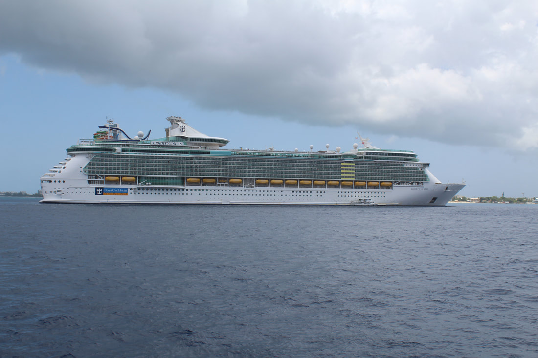 Liberty of the Seas in Grand Cayman