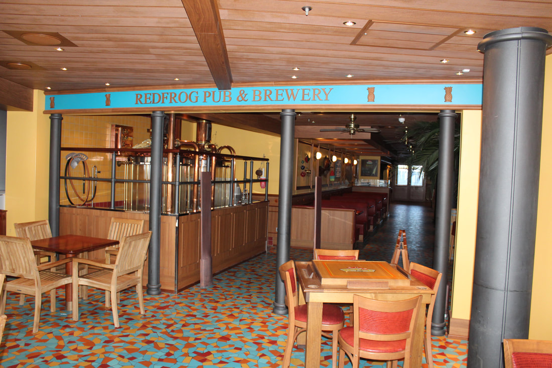 Carnival Vista Red Frog Pub & Brewery