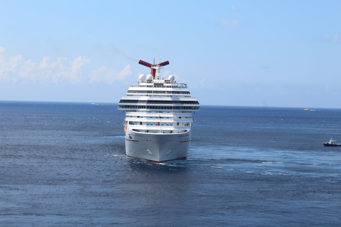 Carnival Freedom Departing Cozumel
