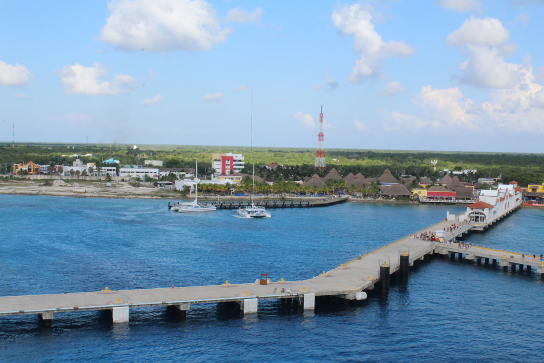 Cozumel - View From The Carnival Vista