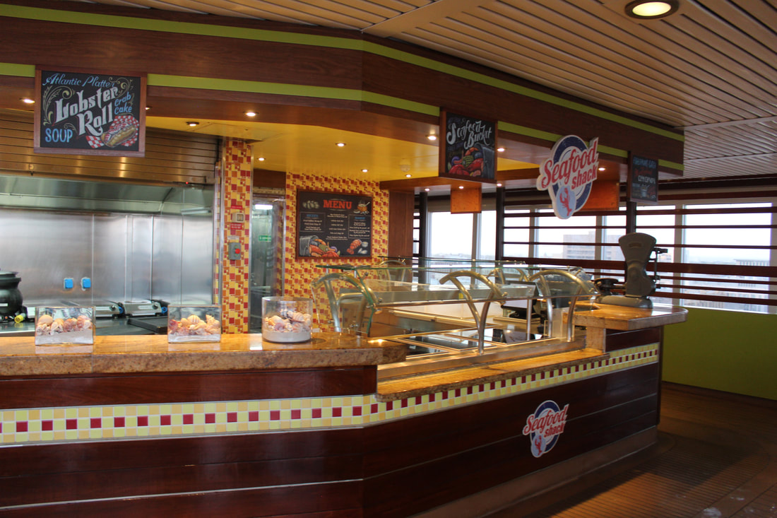 Carnival Freedom Fruit Decoration Display