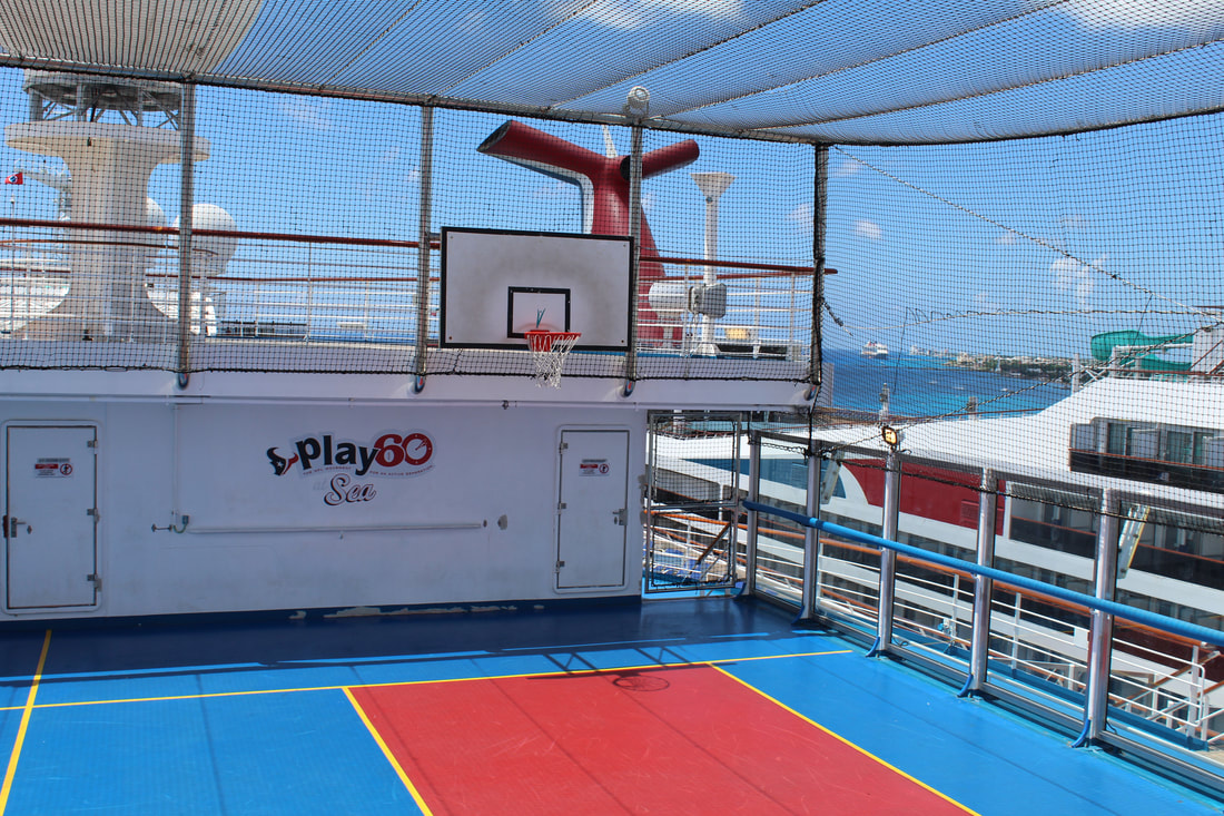 Carnival Freedom Basketball Court