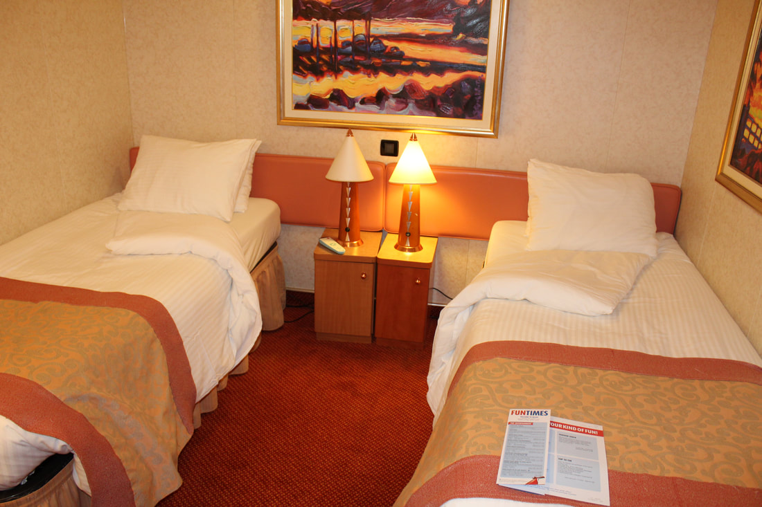 Carnival Freedom Stateroom