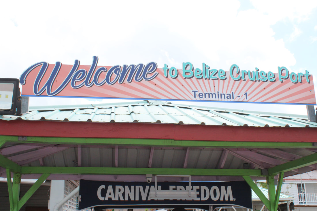 Belize Welcome Sign