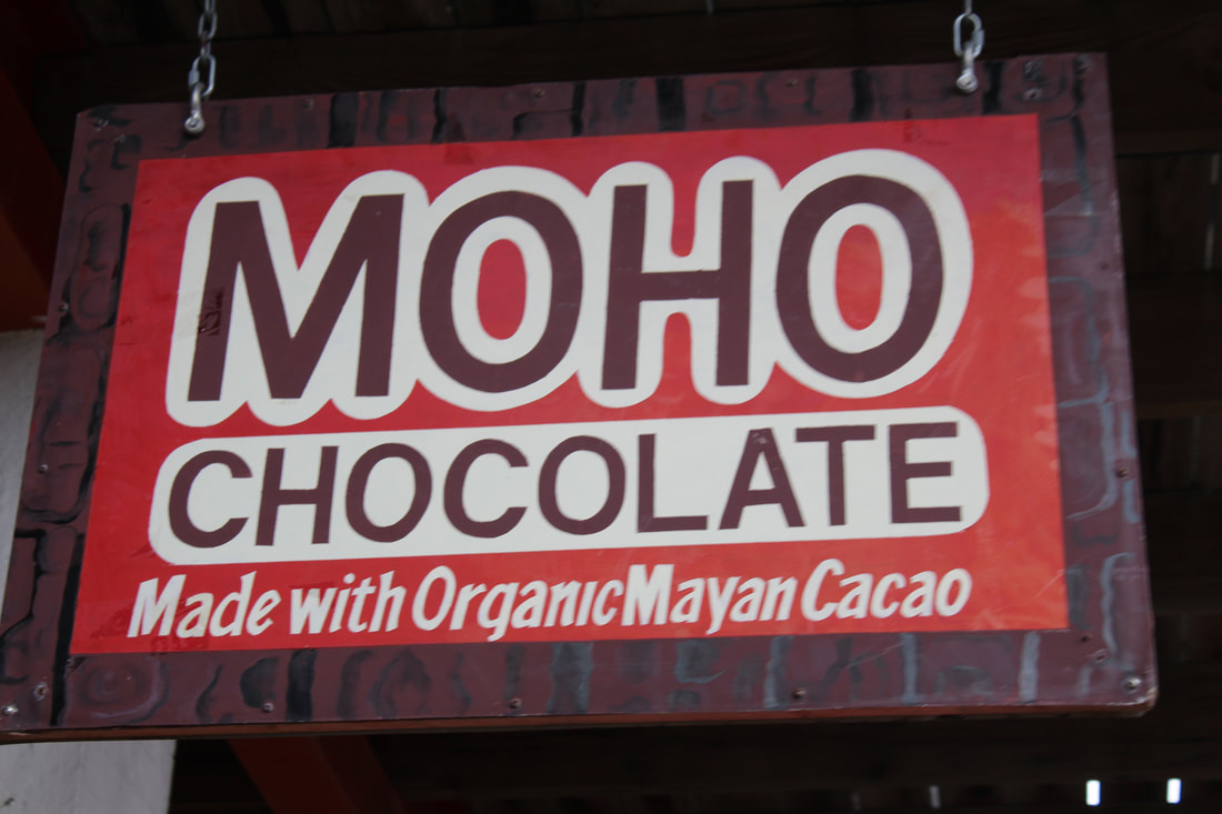 Chocolate Store in Belize
