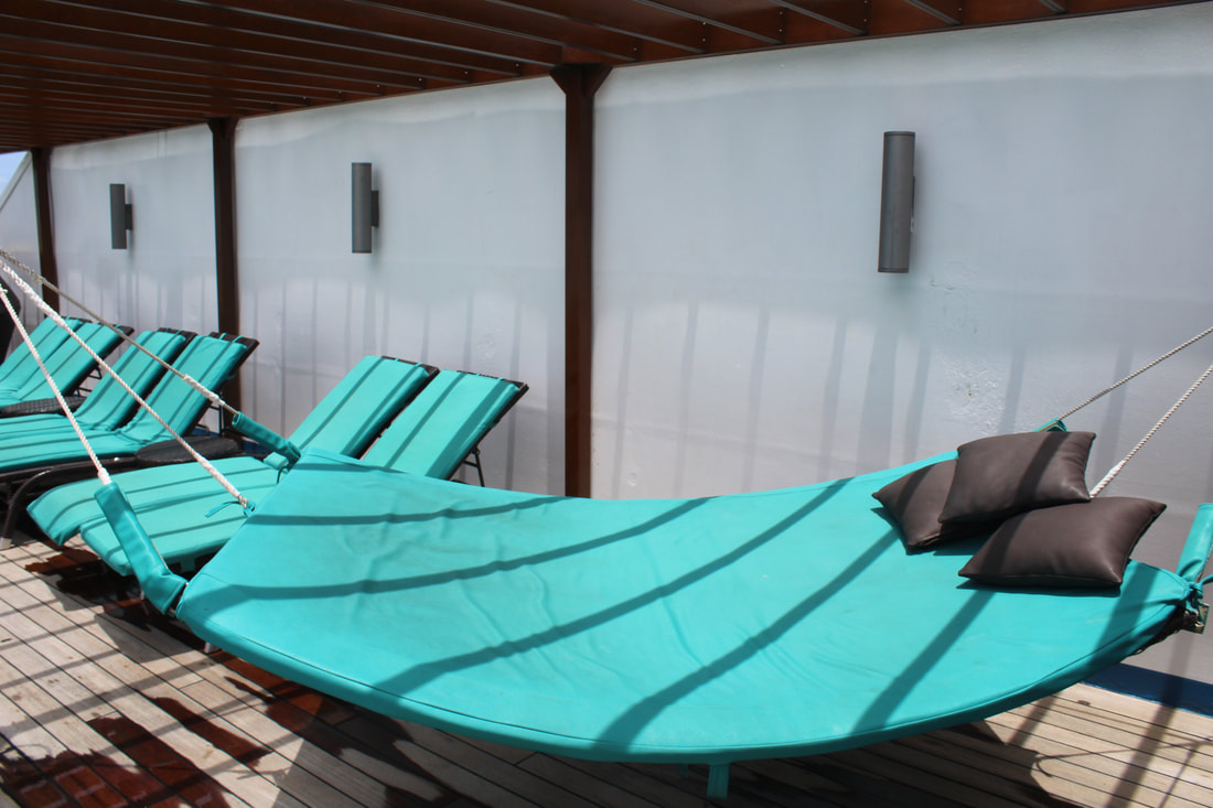 Carnival Freedom Serenity Adults Only Retreat Hammock