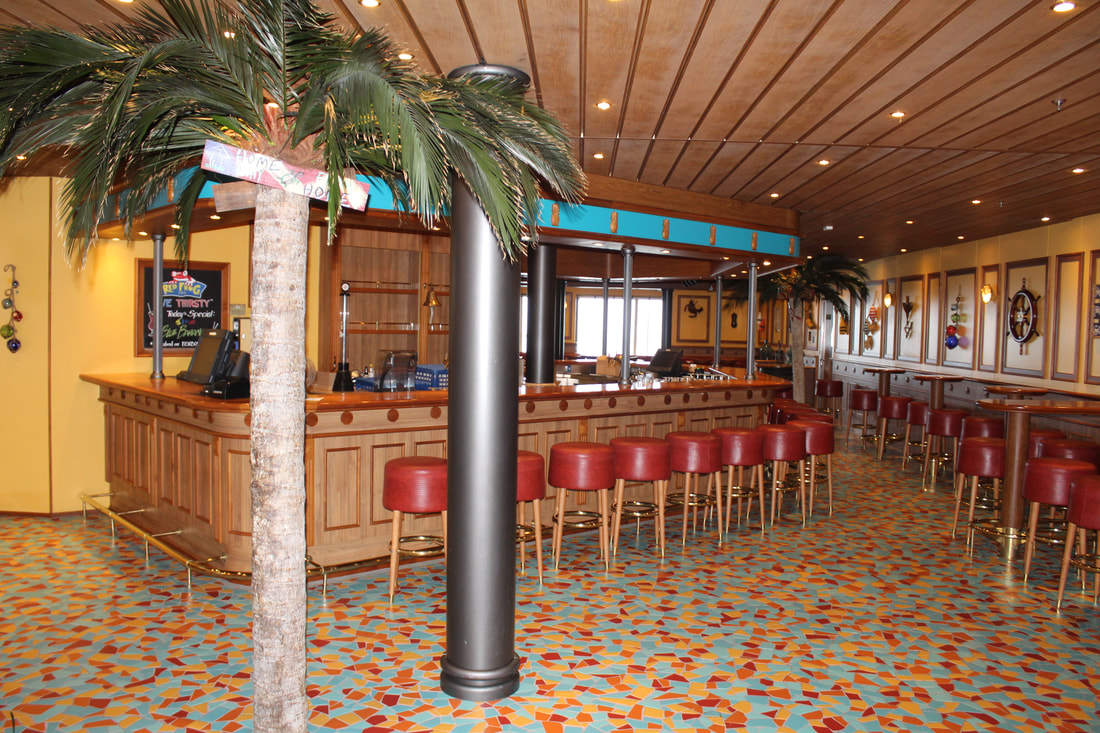 Carnival Freedom Red Frog Pub