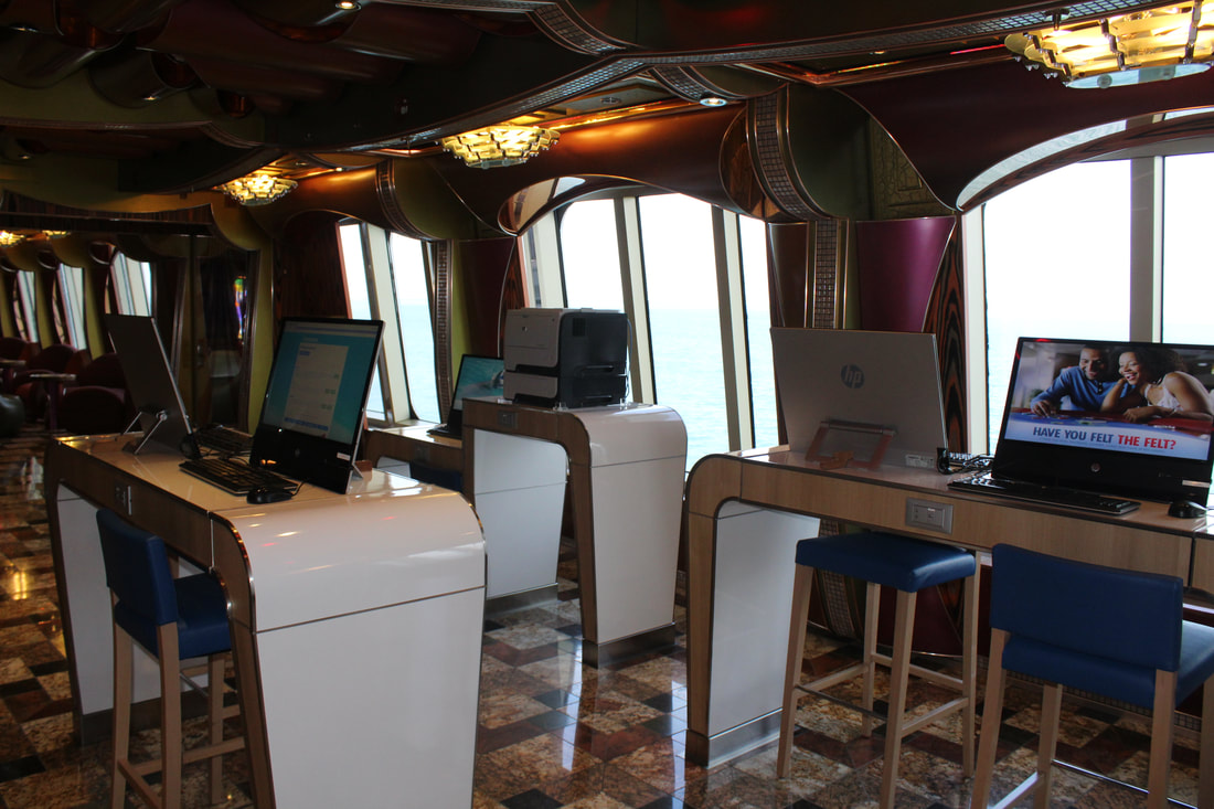 Carnival Freedom Internet Cafe