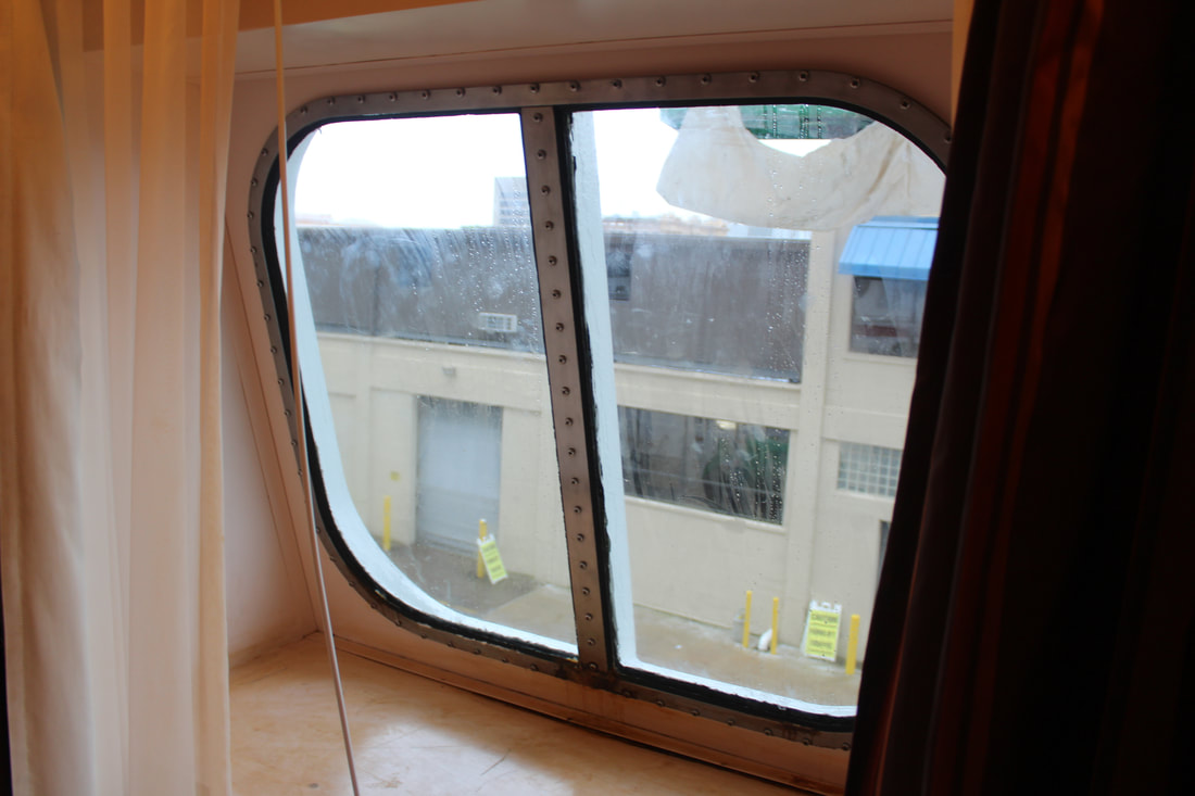 Carnival Dream Deluxe Ocean View Stateroom Window