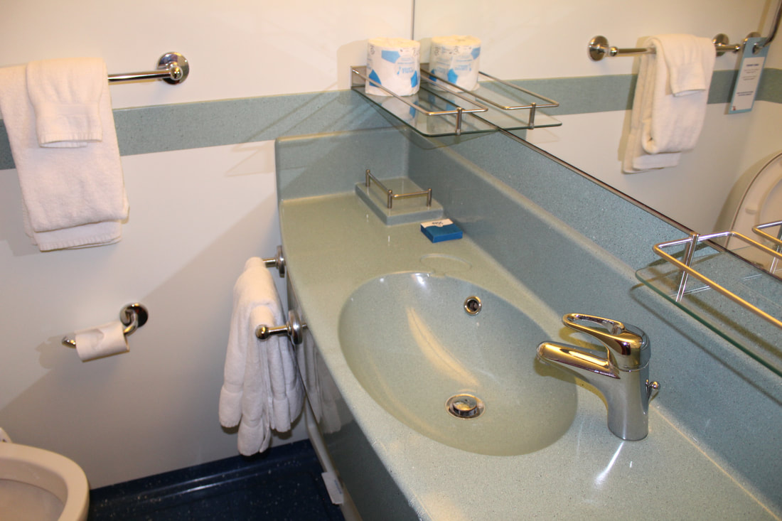 Carnival Dream Deluxe Ocean View Stateroom Sink