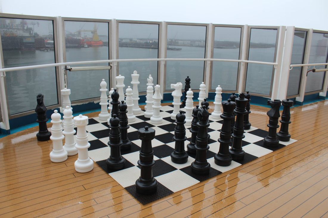 Carnival Dream Lanai Large Chess Gameboard