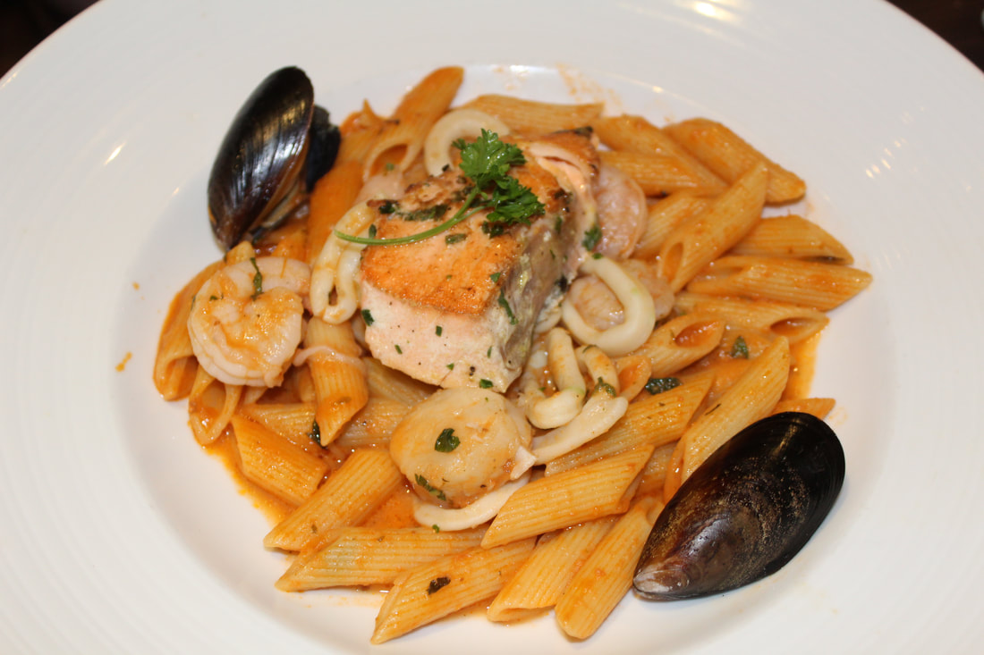 Carnival Freedom Penne Mariscos
