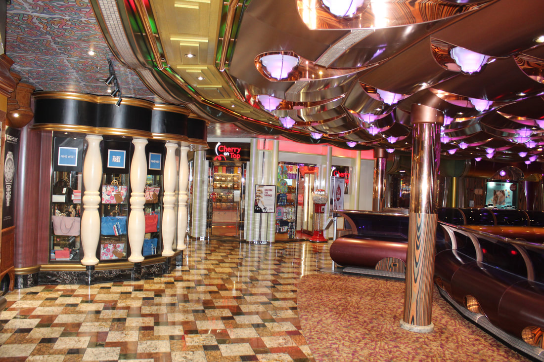 Carnival Freedom Deck 5 Shops & Cherry on Top
