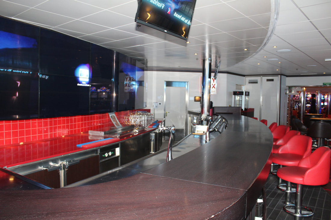 Carnival Freedom Skybox Sports Bar