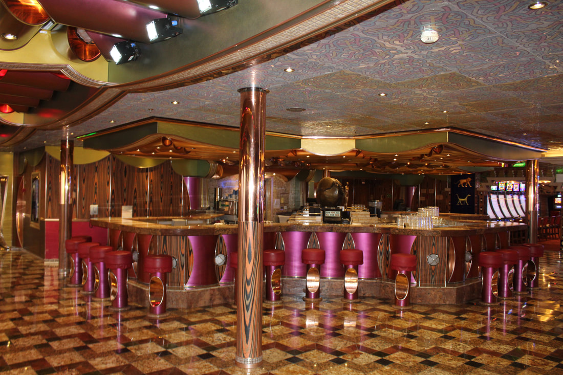 Carnival Freedom Casino Bar