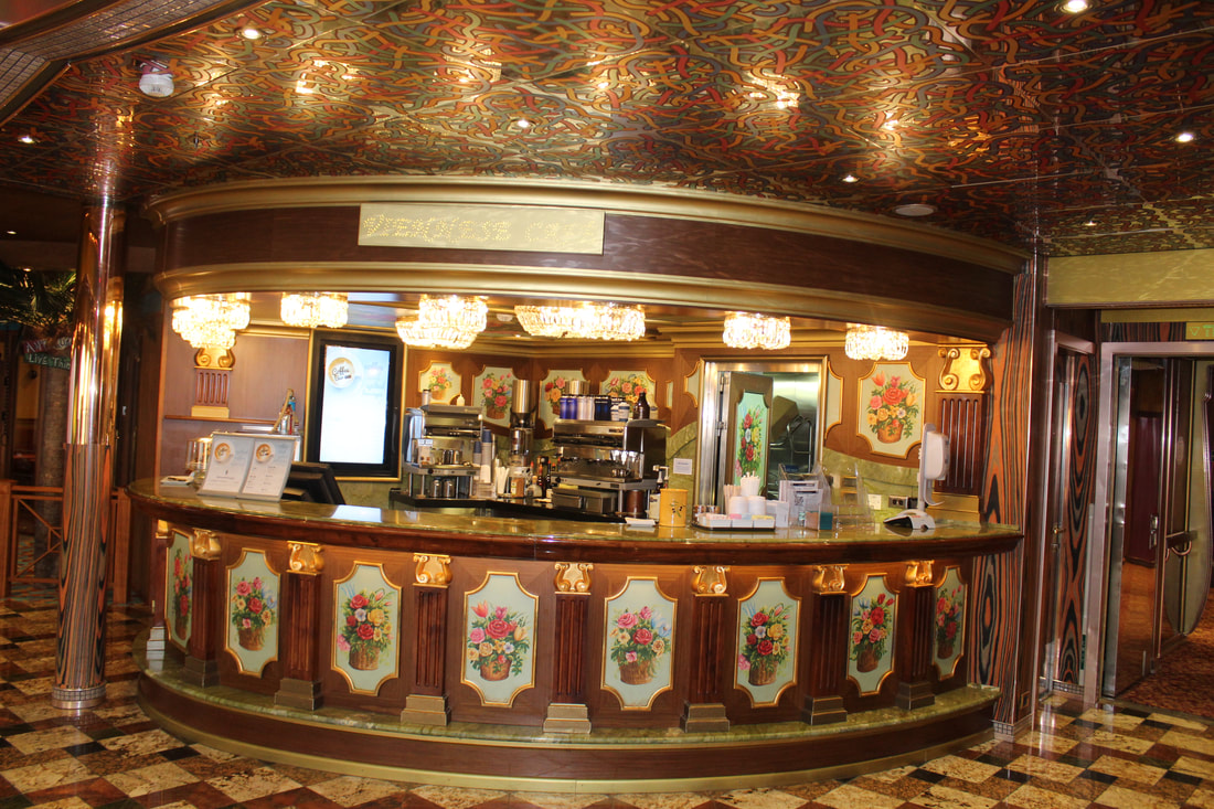 Carnival Freedom Coffee Bar