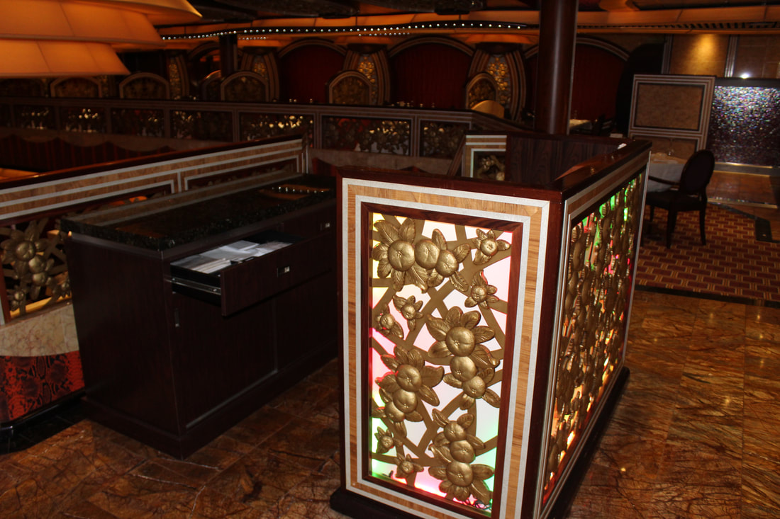 Carnival Freedom Chic Dining Room