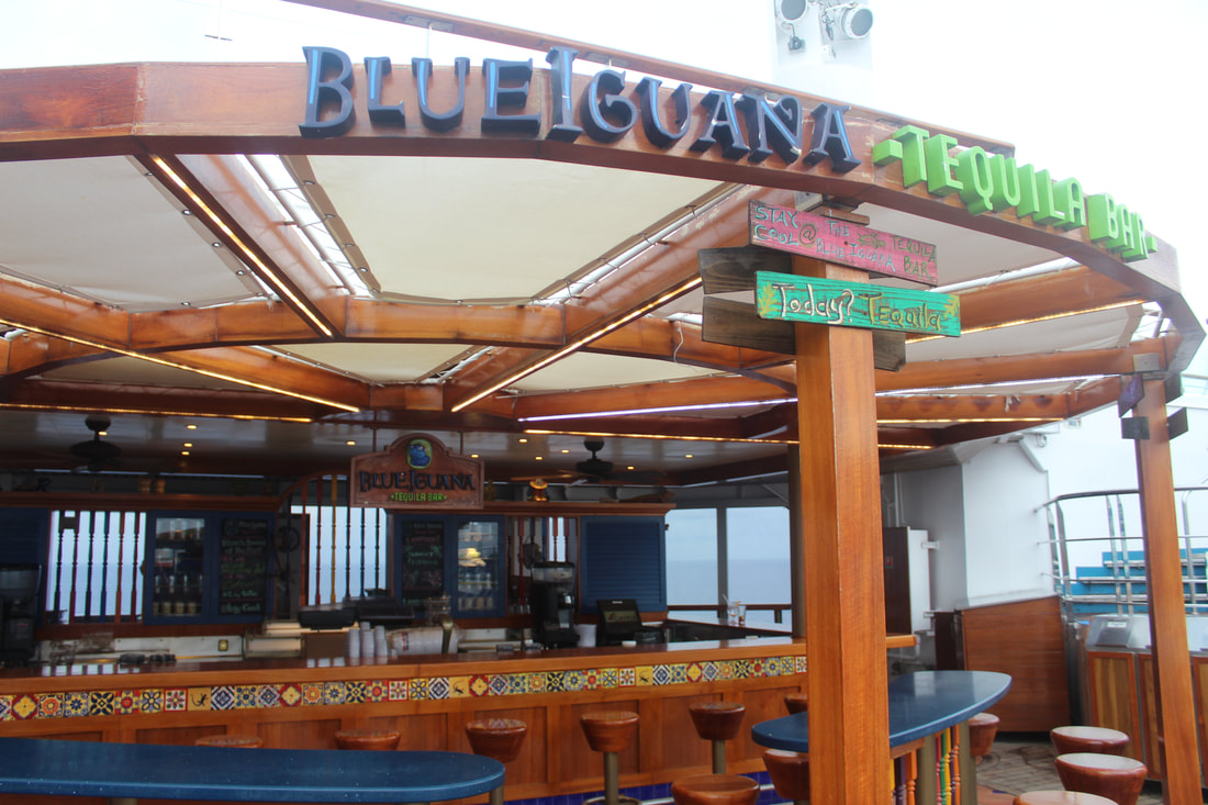 Carnival Freedom Blue Iguana Tequila Bar