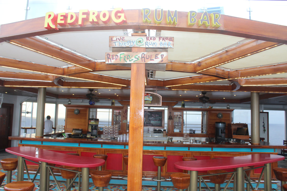Carnival Freedom Red Frog Rum Bar