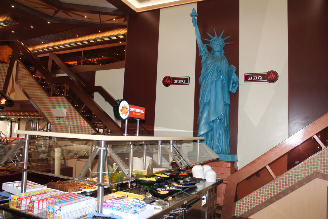 Carnival Freedom Buffet