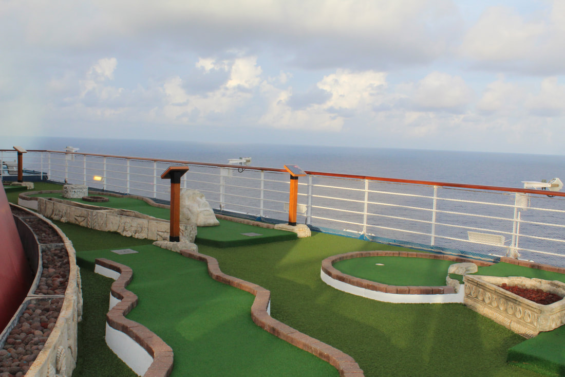 Carnival Freedom Mini Golf Course