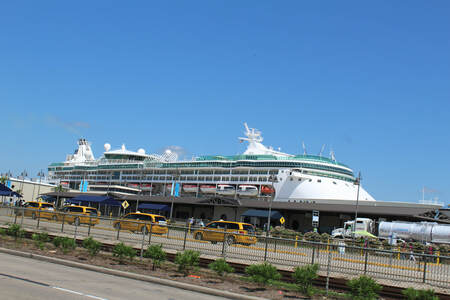 Enchantment of the Seas Docked In Galveston