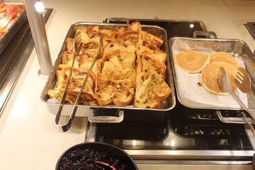 Carnival Cruise Lido Breakfast Buffet Food