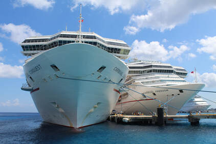 Carnival Conquest and Carnival Freedom